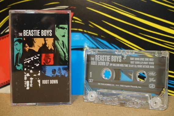 Root Down EP by Beastie Boys Vintage Cassette Tape