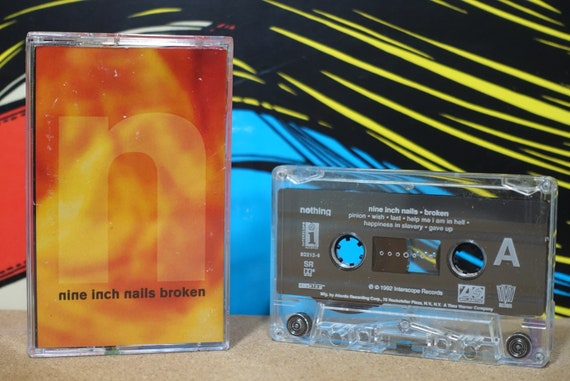 Broken by Nine Inch Nails NIN Vintage Cassette Tape
