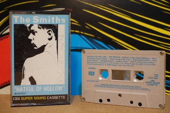 Hatful Of Hollow (RARE AUS Pressing) by The Smiths Vintage Cassette Tape