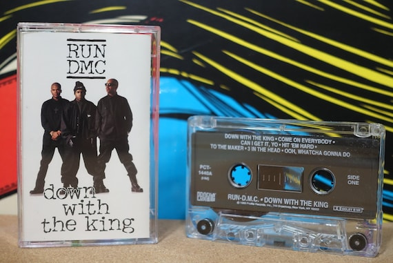 Run-D.M.C - Down With The King Cassette Tape - 1993 Profile Records Vintage Analog Music