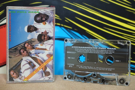 In Full Gear by Stetsasonic Vintage Cassette Tape