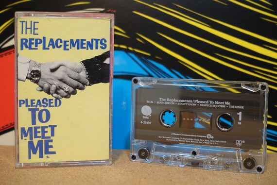 Pleased To Meet Me by The Replacements Vintage Cassette Tape