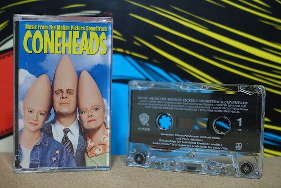 Coneheads Music From The Motion Picture Soundtrack by Various Artists Vintage Cassette Tape