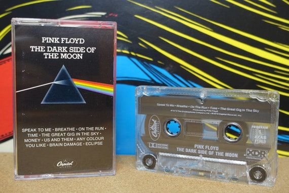 Pink Floyd - The Dark Side Of The Moon Cassette Tape - 1988 Capitol Records Vintage Analog Music