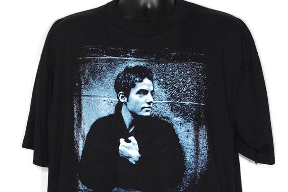 1997 The Wallflowers Vintage T Shirt - Jakob Dylan - One Headlight 6th Ave Heartache Era Giant Branded Original 90s Concert Band T-Shirt