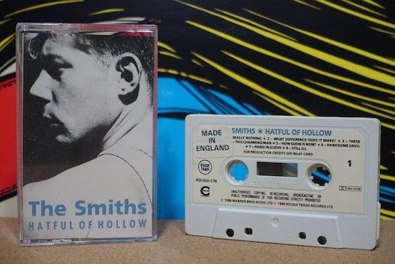 The Smiths Hatful Of Hollow Cassette Tape 1984 Rough Trade Records (UK Pressing) Vintage Analog Music