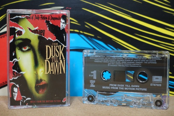 From Dusk Till Dawn: Music From The Motion Picture by Various Artists Vintage Vampire Cassette Tape