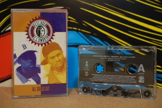 Pete Rock & C.L. Smooth - All Souled Out Cassette Tape - 1991 Elektra Records Vintage Analog Music