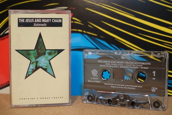 Automatic by The Jesus And Mary Chain Vintage Cassette Tape