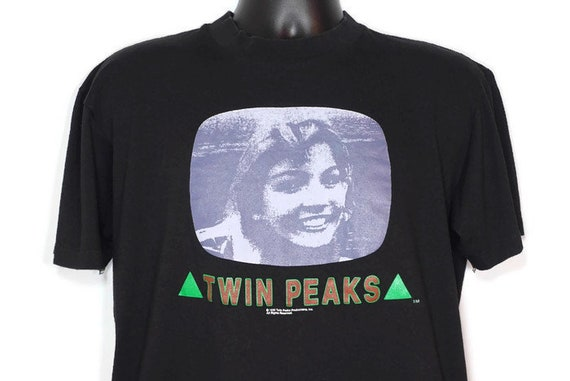 1990 Twin Peaks Promotional - Laura Palmer - David Lynch Cult TV Show - Fire Walk With Me - Vintage T-Shirt