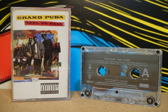 Reel To Reel by Grand Puba Vintage Cassette Tape