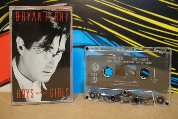 Boys And Girls by Bryan Ferry Vintage Cassette Tape
