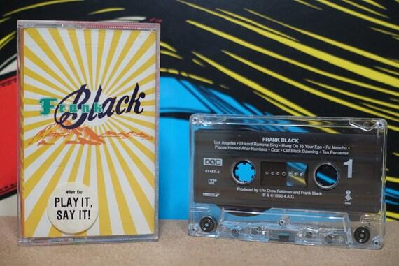 Frank Black by Frank Black Vintage Cassette Tape