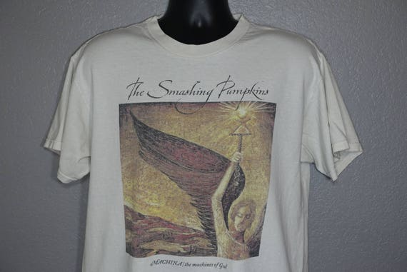 RARE Smashing Pumpkins - Machina The Sacred and Profane Tour Double-Sided Vintage Concert T-Shirt