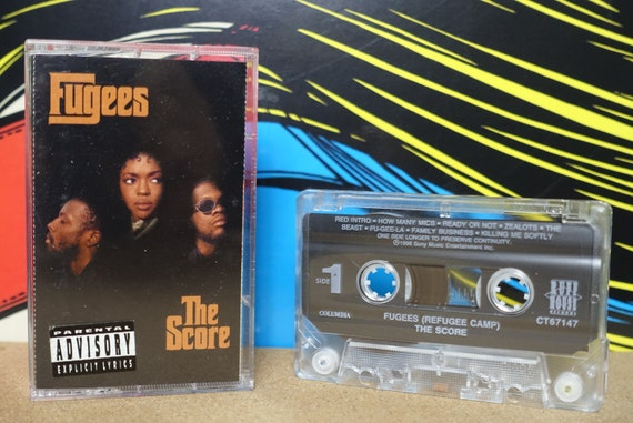 The Fugees The Score Cassette Tape - 1996 Ruffhouse Columbia Records Vintage Analog Music