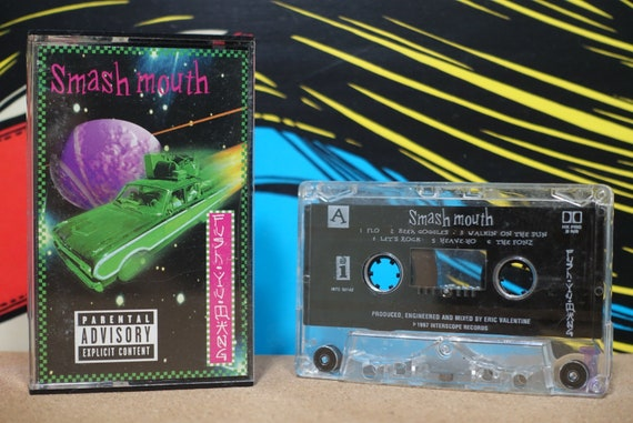 Fush Yu Mang by Smash Mouth Vintage Cassette Tape