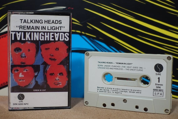 Remain In Light (Rare Portugal Pressing) by Talking Heads Vintage Cassette Tape