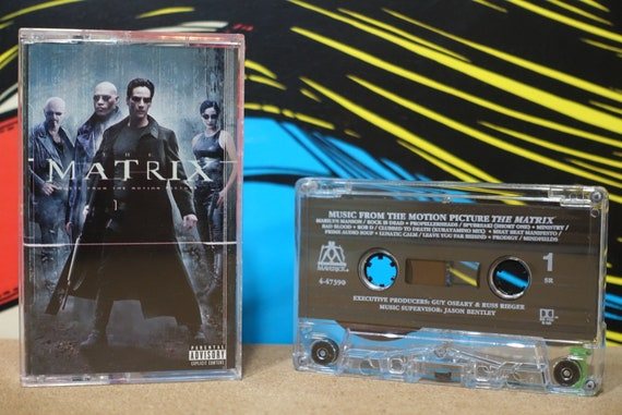 The Matrix - Soundtrack Cassette Tape (Music From The Original Motion Picture) by Various Artists Vintage Analog Music
