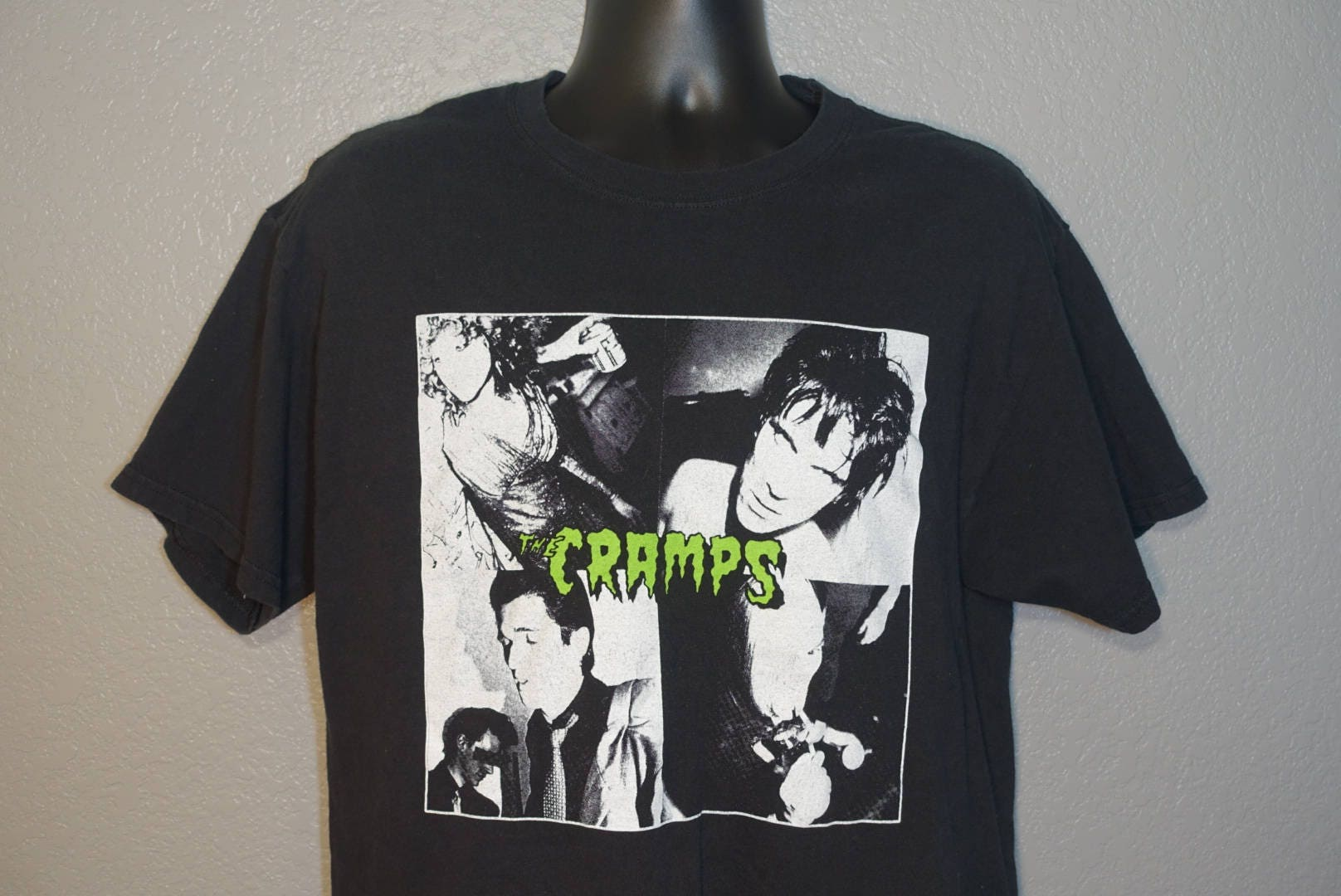 The Cramps - Psychobilly Punk - Lux Interior & Poison Ivy - Vintage ...