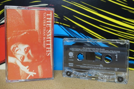 The Smiths - Louder Than Bombs Cassette Tape 1987 Sire Records Vintage Analog Music