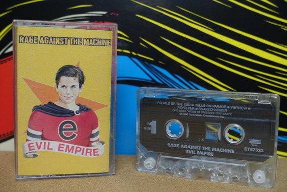 Rage Against The Machine Vintage, Cassette, Evil Empire, Cassette Tape, 1996 Epic Records, Vintage Cassette, Analog Music, Music Lover Gift
