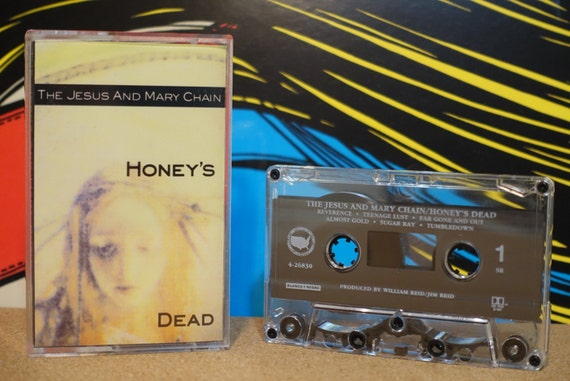 The Jesus And Mary Chain - Honey's Dead Cassette Tape 1992 Def American Records Vintage Analog Music