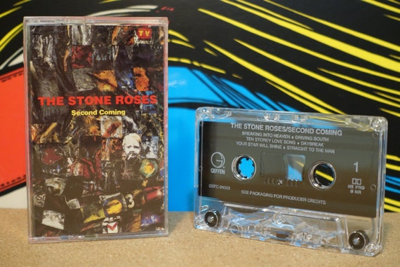 Second Coming by Stone Roses Vintage Cassette Tape