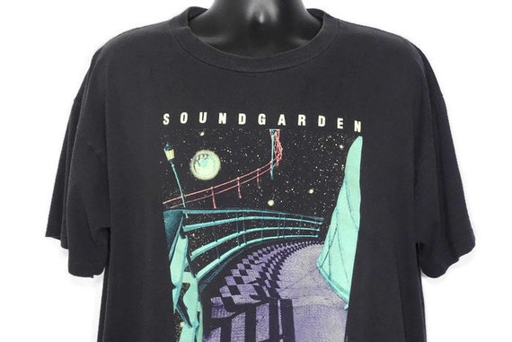 1994 Soundgarden - Superunknown  - Chris Cornell - Grunge - GLOW in the DARK - 94 Tour  - Double Sided Vintage Concert T-Shirt