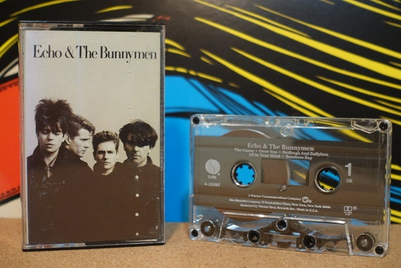 Echo and The Bunnymen by Echo and The Bunnymen Vintage Cassette Tape