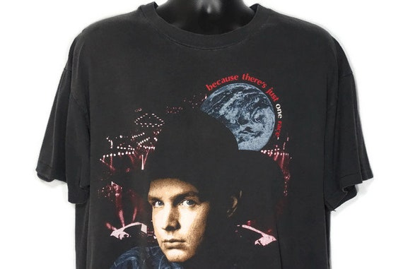 1994 RARE Garth Brooks - Because There's Just One Race And That's Mankind '94 Tour - We All Belong Vintage Double Sided Concert T-Shirt