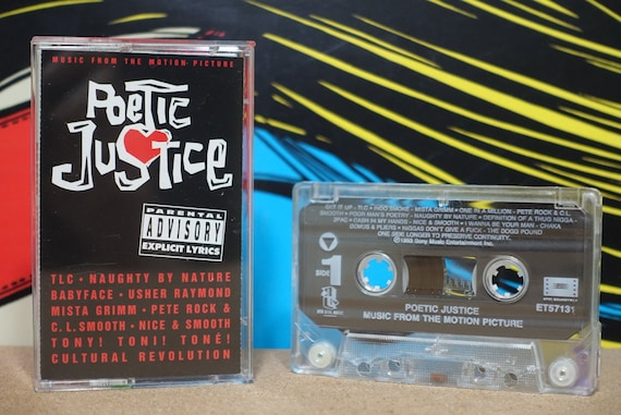 Poetic Justice by Various Artists including 2Pac TLC Vintage Cassette Tape