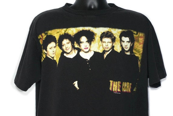 1996 The Cure - '96 Swing Tour - Robert Smith and The Cure - Double Sided Vintage Concert T-Shirt