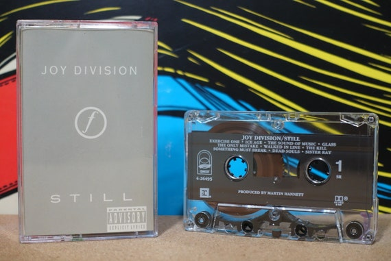 Still by Joy Division Vintage Cassette Tape