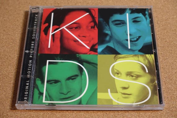 Kids (Music From The Motion Picture) by Various Artists Vintage CD Compact Disc