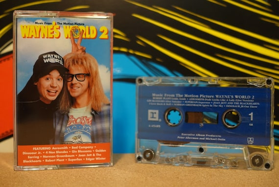 Music From The Motion Picture Wayne's World 2 by Various Artists Vintage Cassette Tape