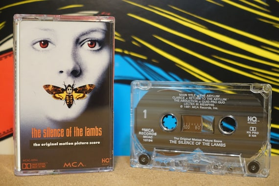 The Silence Of The Lambs (The Original Motion Picture Score) by Howard Shore Vintage Cassette Tape