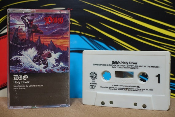 Holy Diver by Dio Vintage Cassette Tape