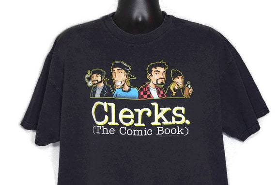 1998 Clerks (The Comic Book) Vintage Cult Movie T-Shirt