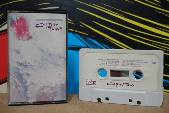 Cocteau Twins - Head Over Heels Cassette Tape 1986 4AD Records Vintage Analog Music