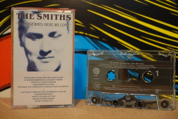 Strangeways, Here We Come by The Smiths Vintage Cassette Tape