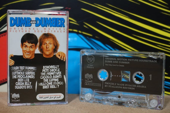 Dumb And Dumber (Original Motion Picture Soundtrack) by Various Artists Vintage Cassette Tape