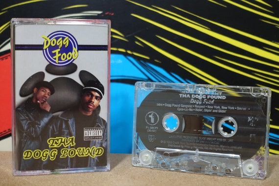 Dogg Food by Tha Dogg Pound Vintage Cassette Tape