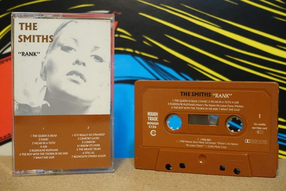 The Smiths - Rank Cassette Tape - 1988 Rough Trade Records (RARE UK Pressing) - Vintage Analog Music