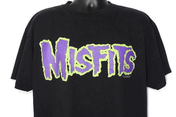 1999 Misfits Vintage T Shirt - GLENN DANZIG Evilive Music Wolfgang von Frankenstein - Horror Punk Original 90s Concert Band T-Shirt