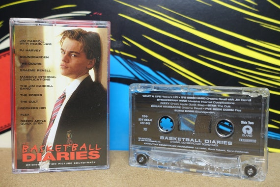 The Basketball Diaries Original Motion Picture Soundtrack by Various Artists Vintage Cassette Tape