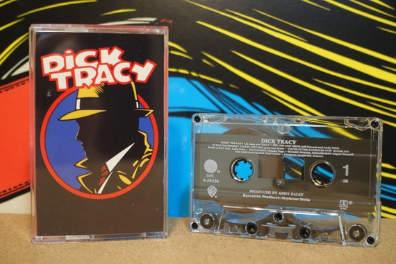 Dick Tracy by Various Artists Vintage Cassette Tape