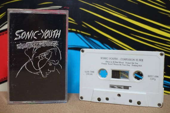 Confusion Is Sex (RARE SST Records Pressing) by Sonic Youth Vintage Cassette Tape