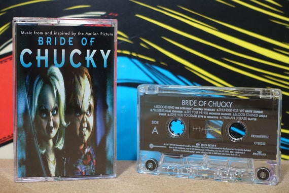 Bride Of Chucky by Various Artists Vintage Cassette Tape