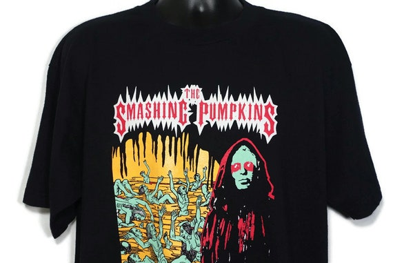 1999 Smashing Pumpkins Vintage T Shirt - The Arising Tour 2-Sided Original 90s Band Concert T-Shirt designed by Jeff Panall