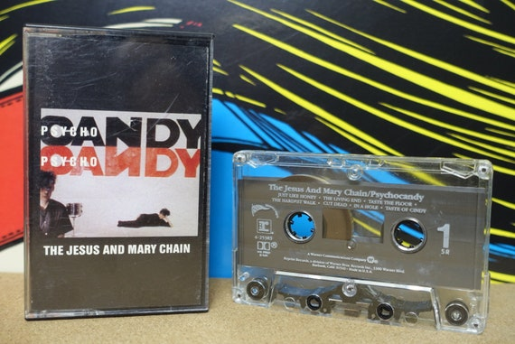 The Jesus And Mary Chain - Psychocandy Cassette Tape 1985 Reprise Records Vintage Analog Music